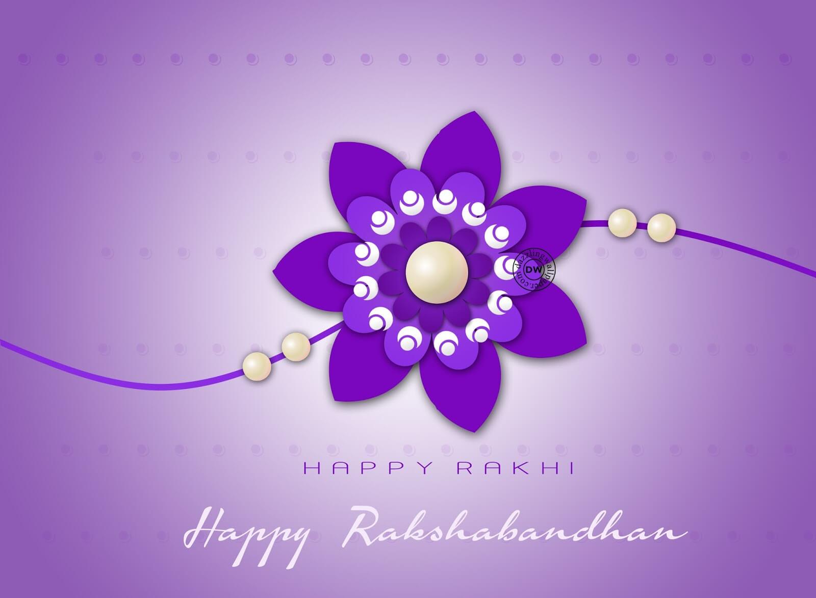 happy raksha bandhan rakhi wishes hd wallpaper