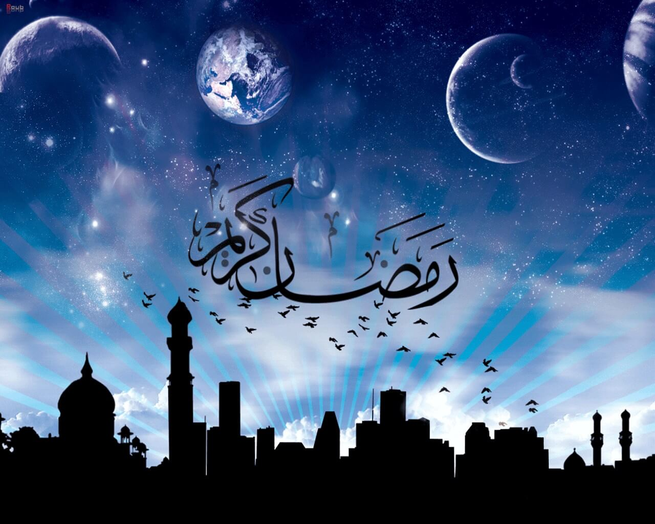 happy ramzan eid full hd wallpaper