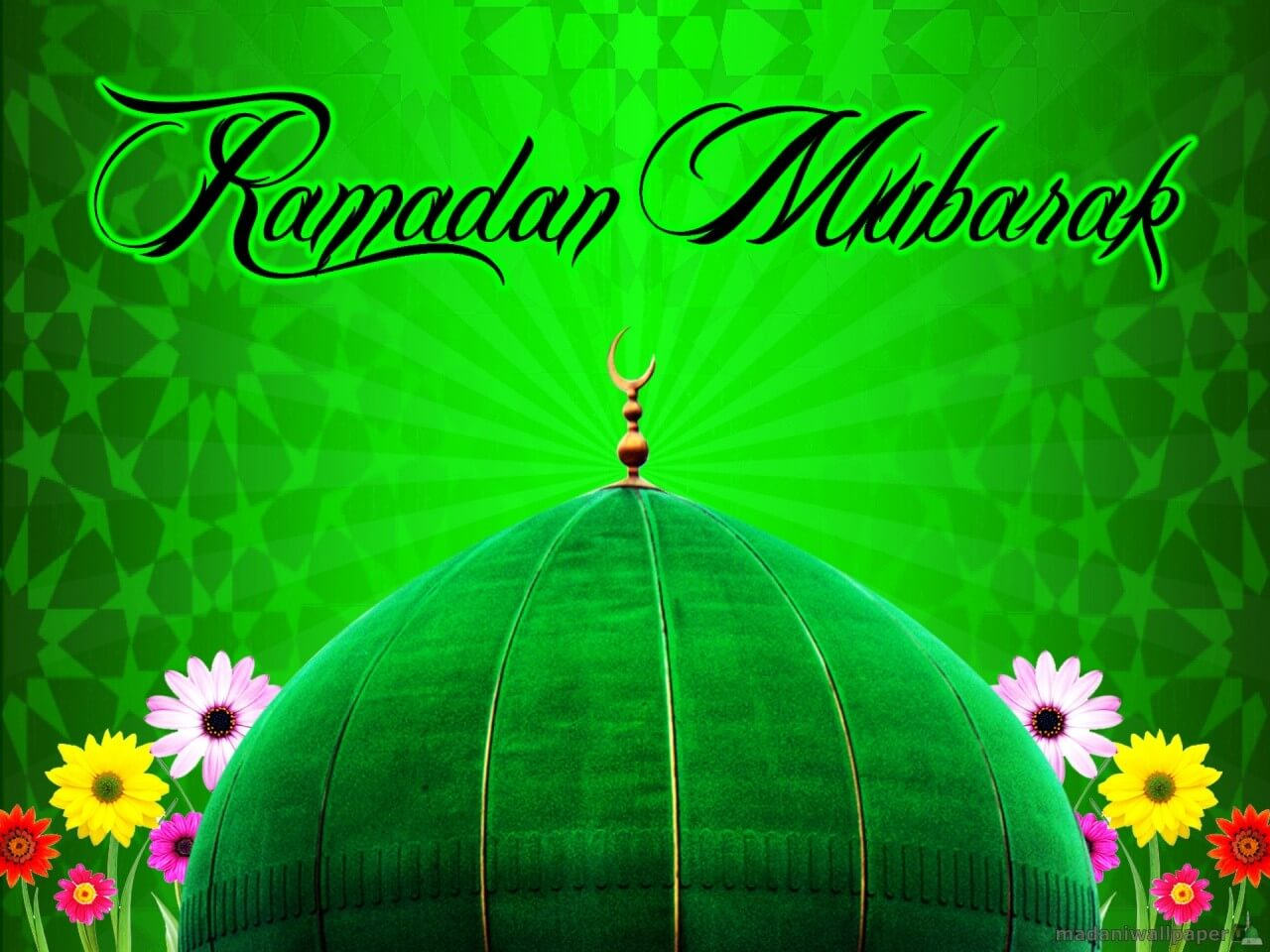 happy ramzan mubarak wallpaper
