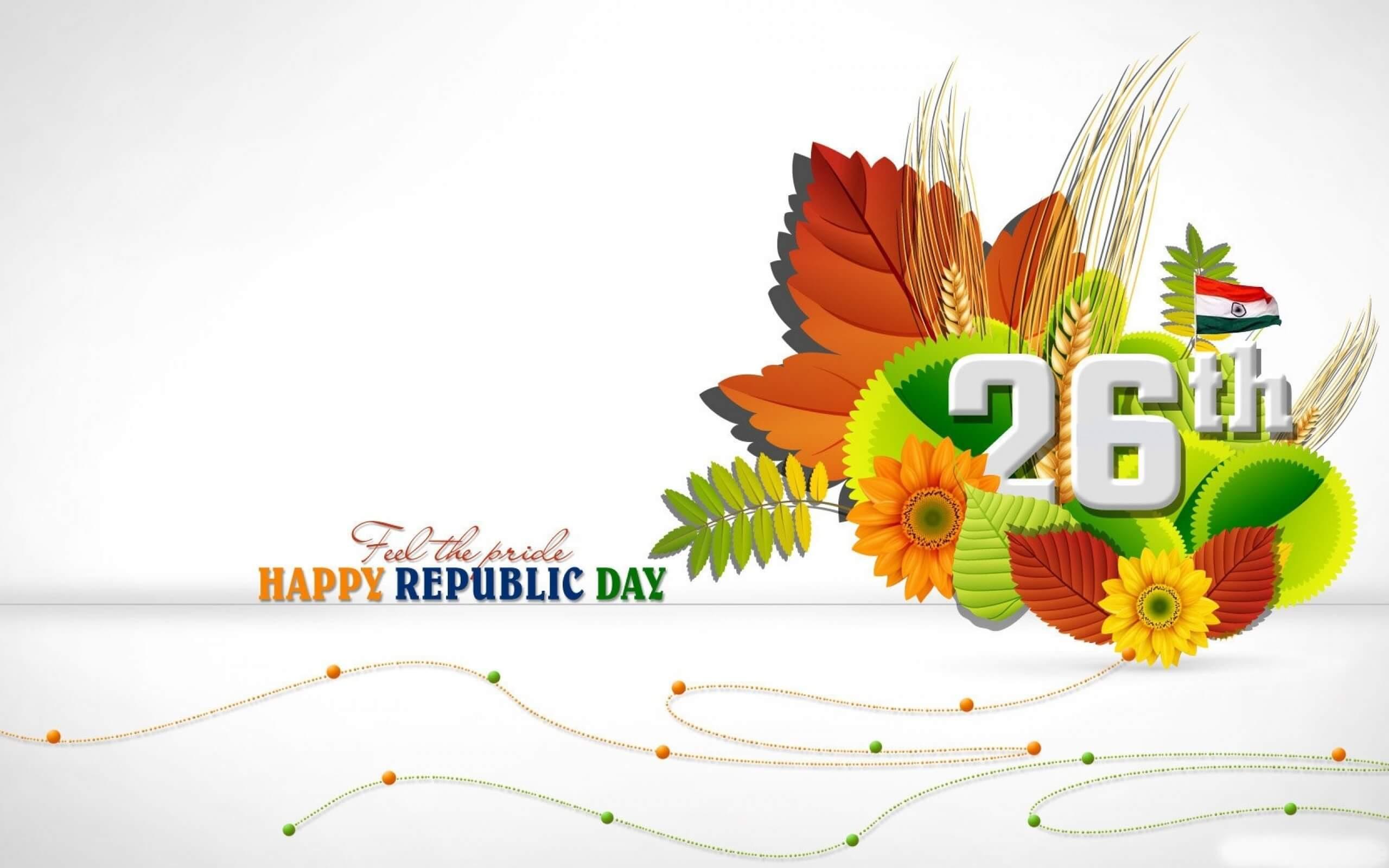 happy republic day greetings india 26th january hd desktop wallpaper