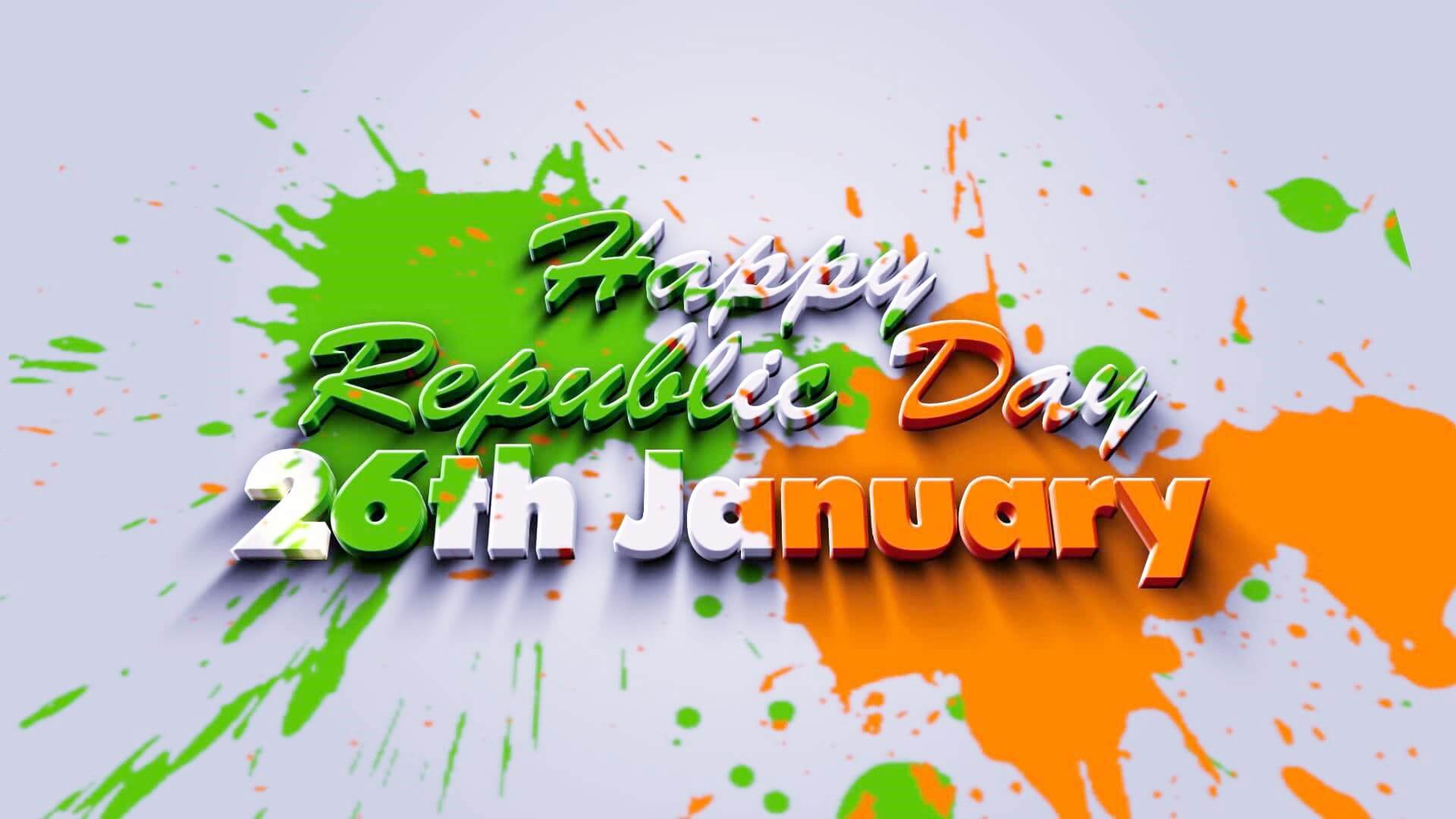 happy republic day india colorful greetings 26th january hd wallpaper
