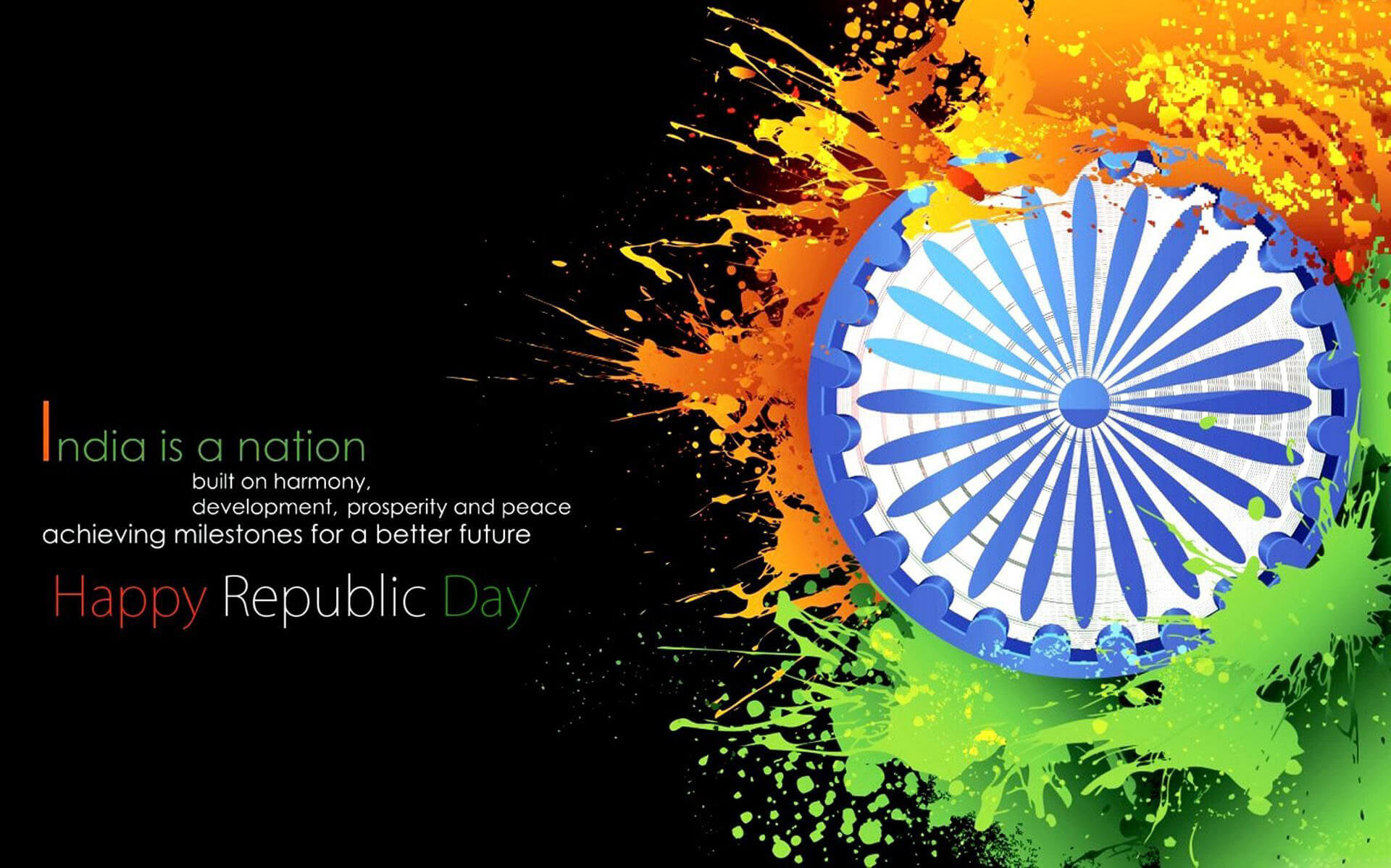 happy republic day wishes greetings india 26th january hd pc wallpaper