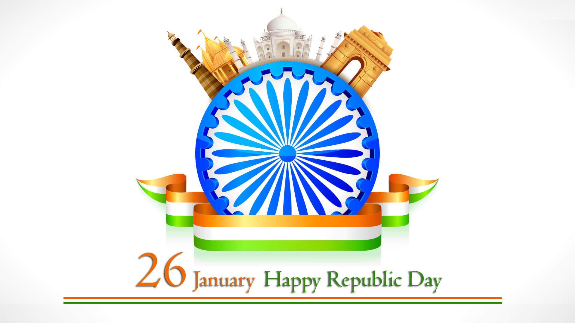 happy republic day wishes india 26 january hd desktop wallpaper
