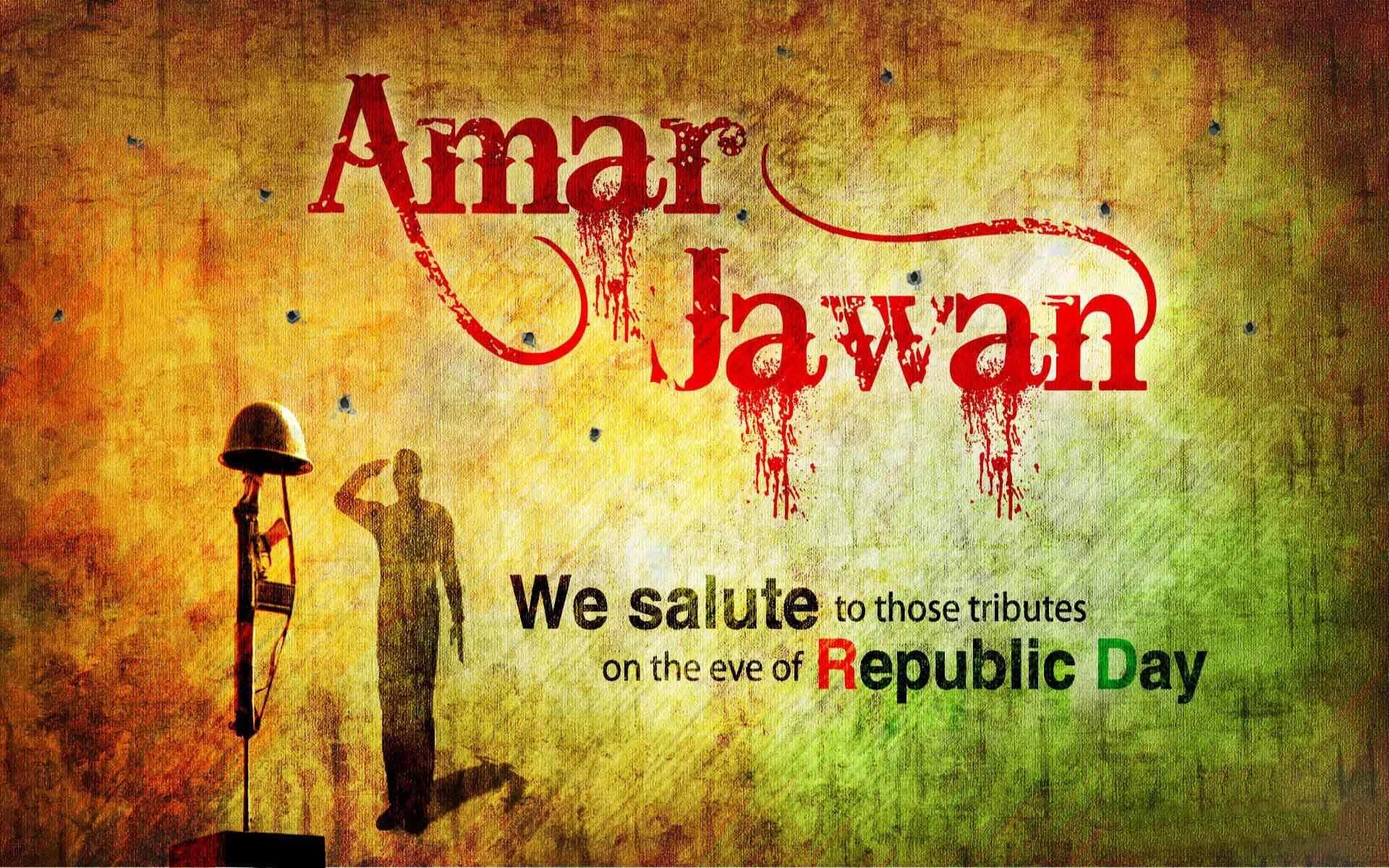 happy republic day wishes india january 26 amar jawan hd desktop wallpaper