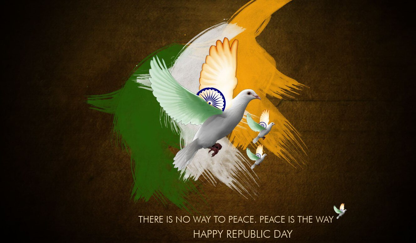 happy republic day wishes india january 26 peace quotes hd desktop wallpaper