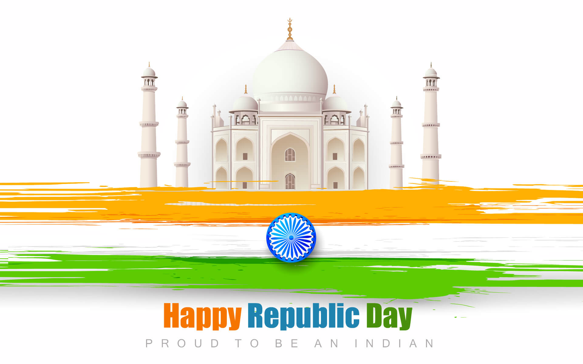 happy republic day wishes india january 26 proud to be an indian hd pc wallpaper