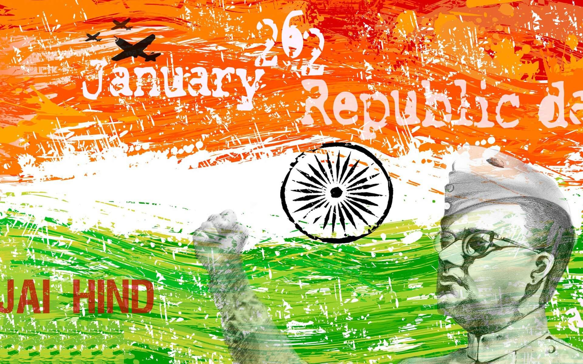 happy republic day wishes jai hind india 26th january hd desktop wallpaper