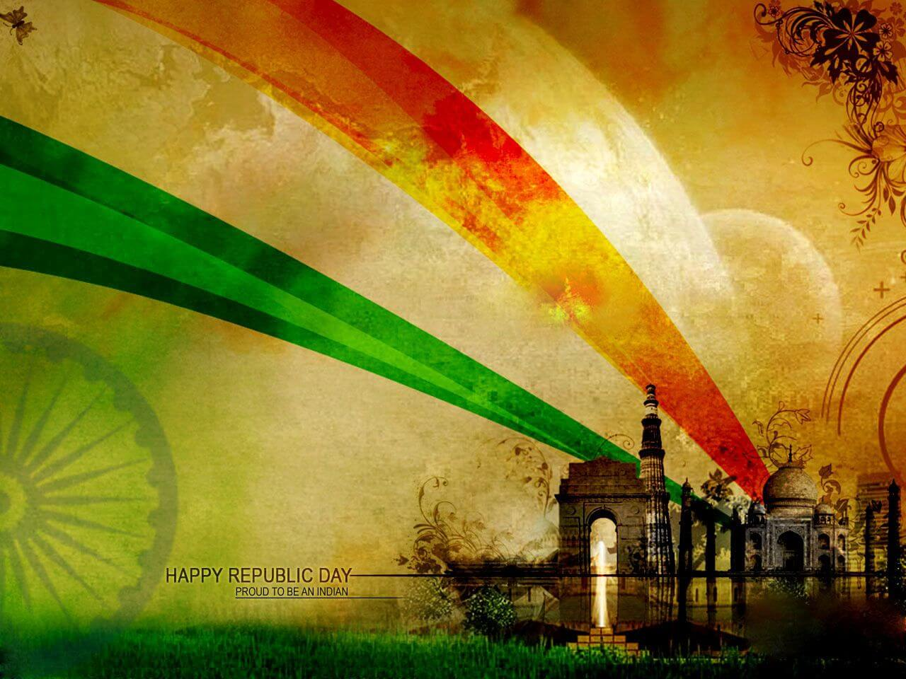 happy republic day wishes proud to be an indian 26 january hd wallpaper