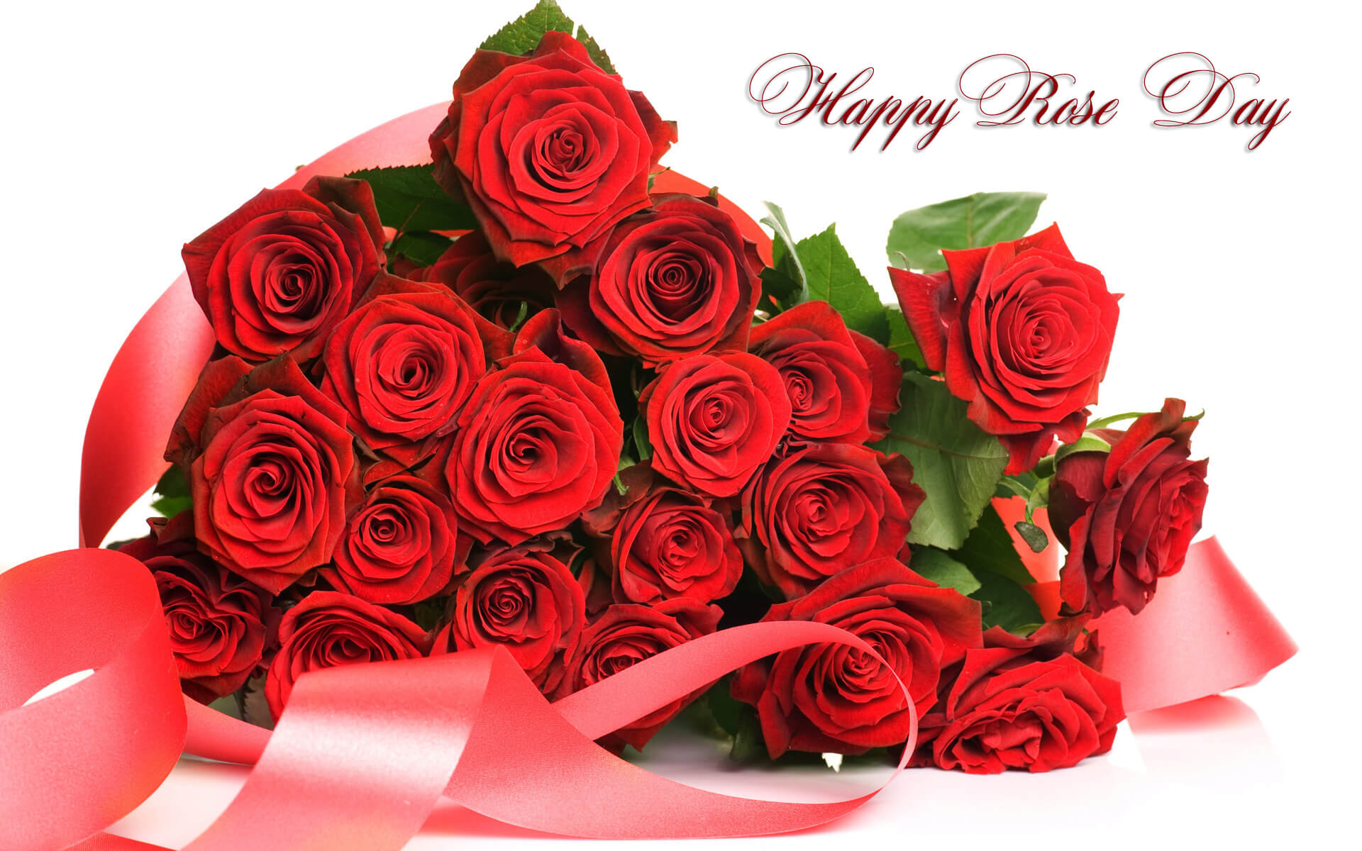 happy rose day bouqet graphic image desktop hd wallpaper