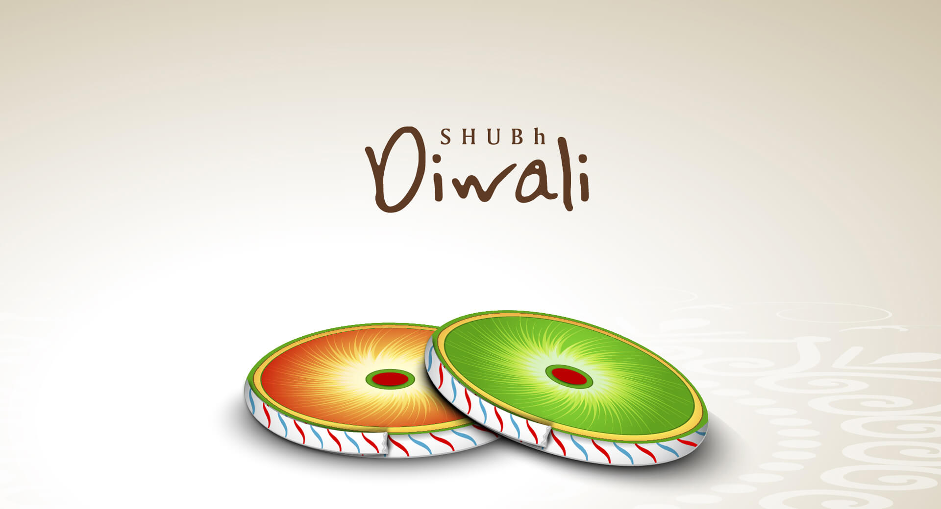 happy shubh diwali deepavali wishes chakra crackers hd wallpaper