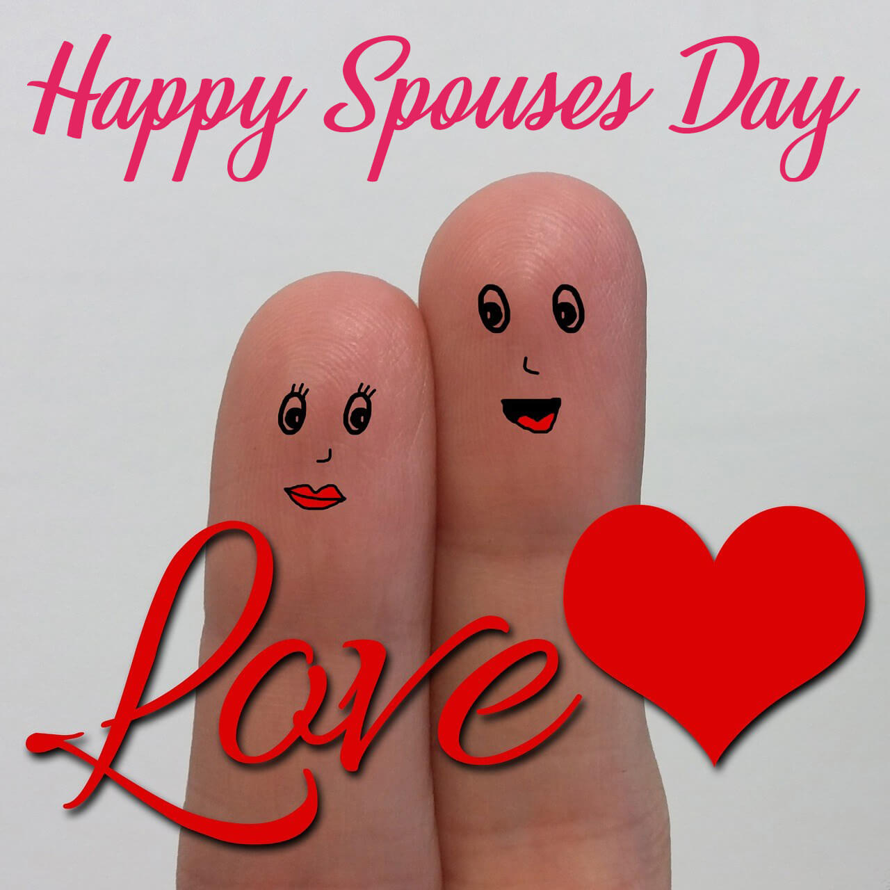 happy spouses day greetings wishes hd wallpaper