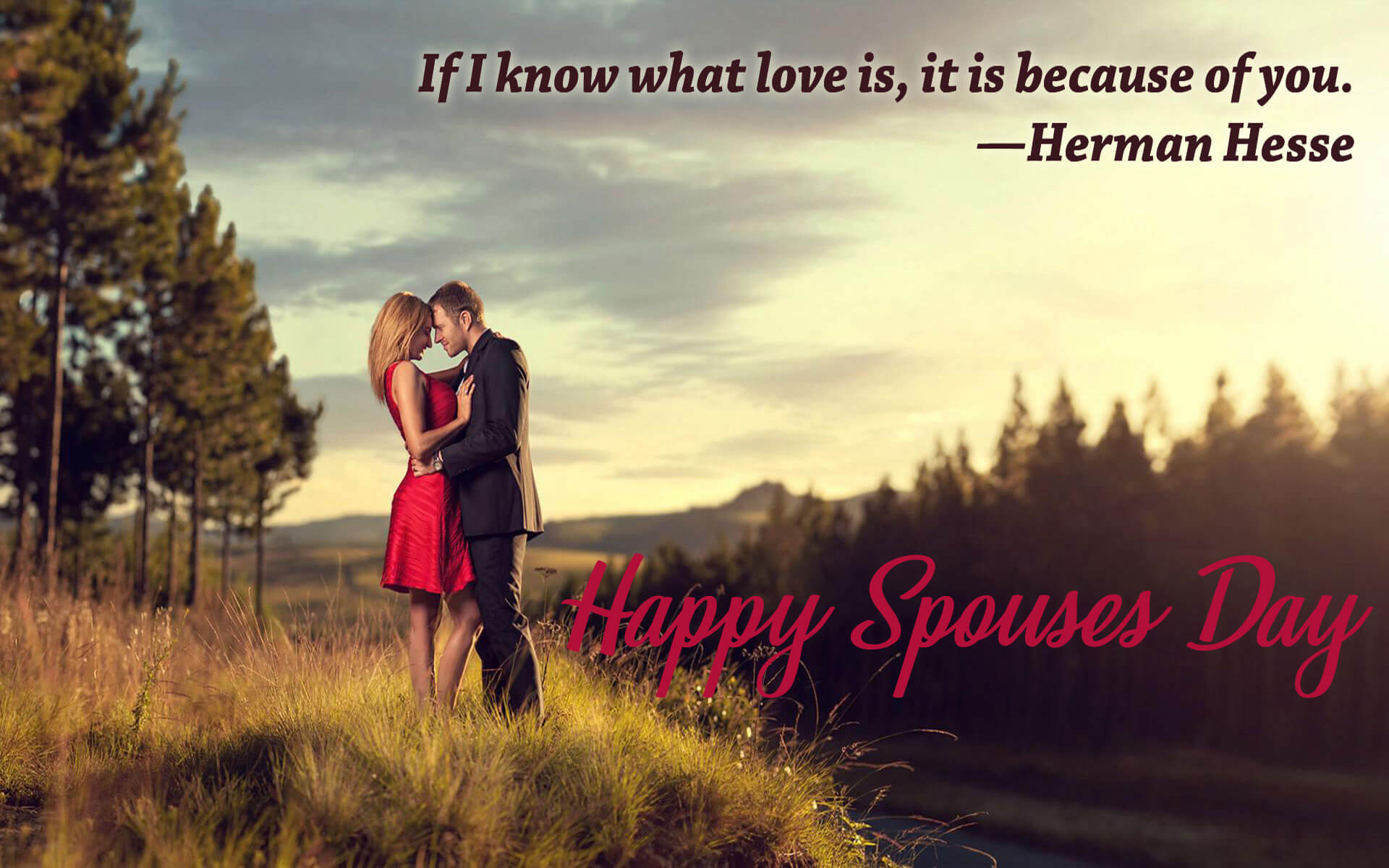 happy spouses day greetings wishes romantic image quotes hd wallpaper