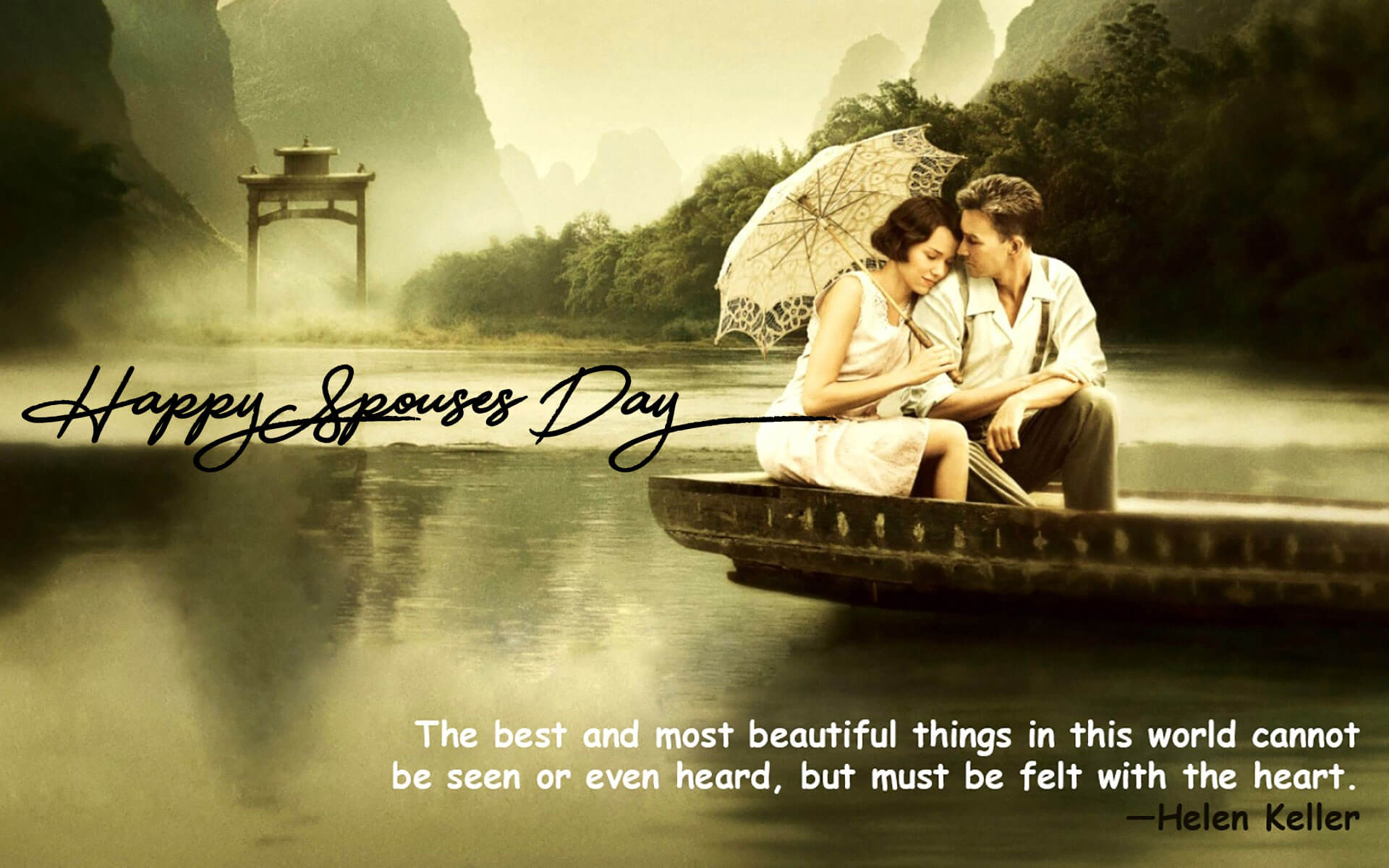 happy spouses day wishes greetings romantic image quotes hd wallpaper