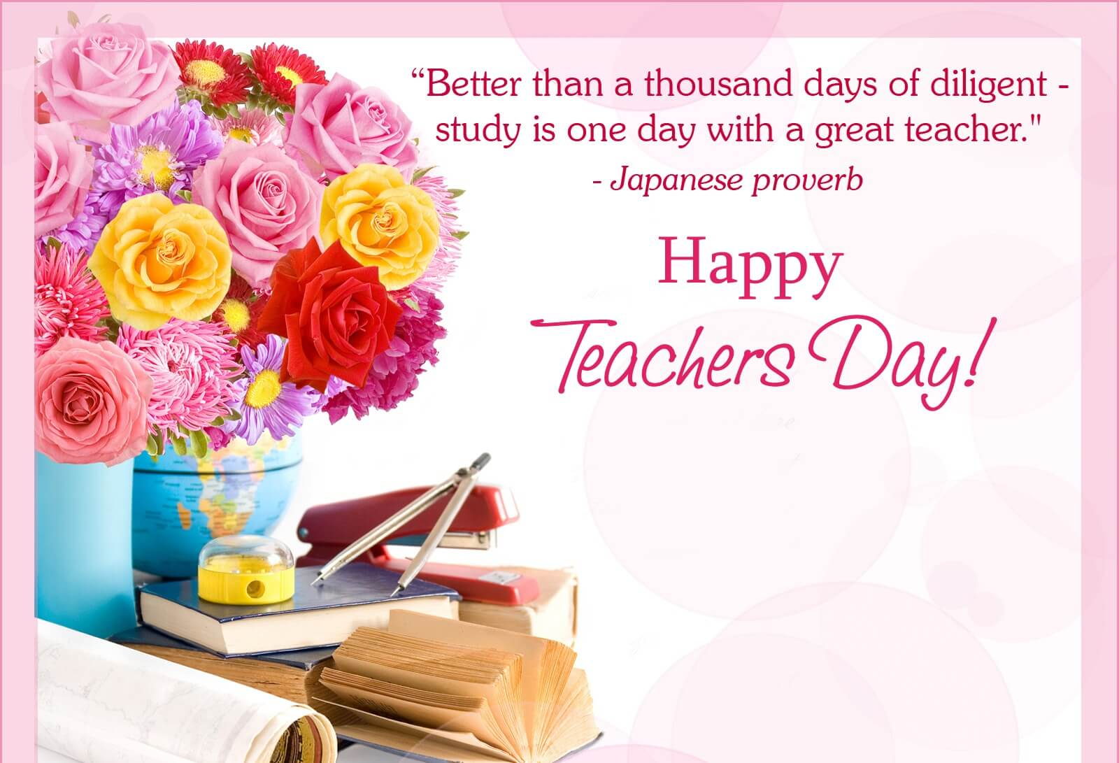 happy teachers day quotes proverb wallpaper