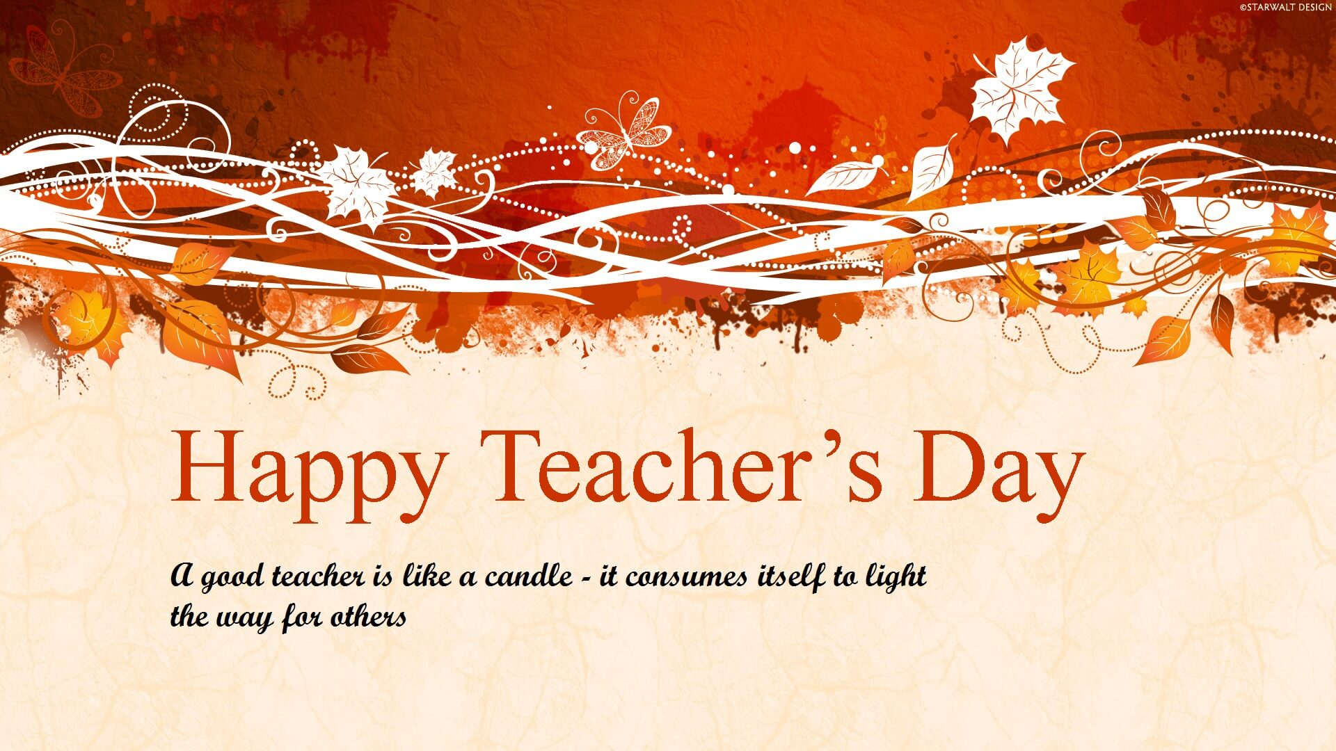 happy teachers day wishes hd wallpaper