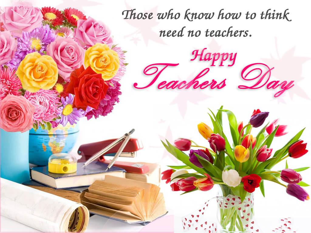 happy teachers day wishes latest cute hd wallpaper