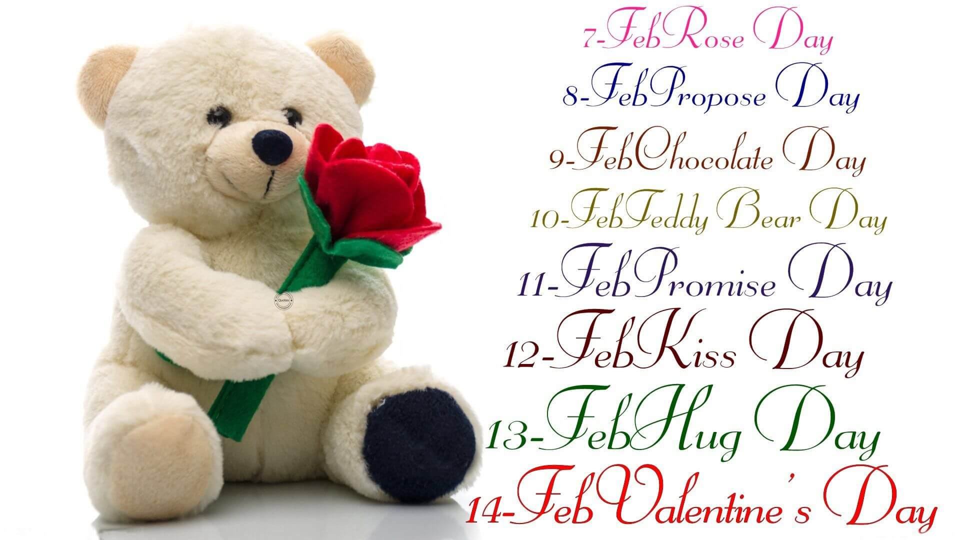 happy teddy day hug valentine week image hd wallpaper