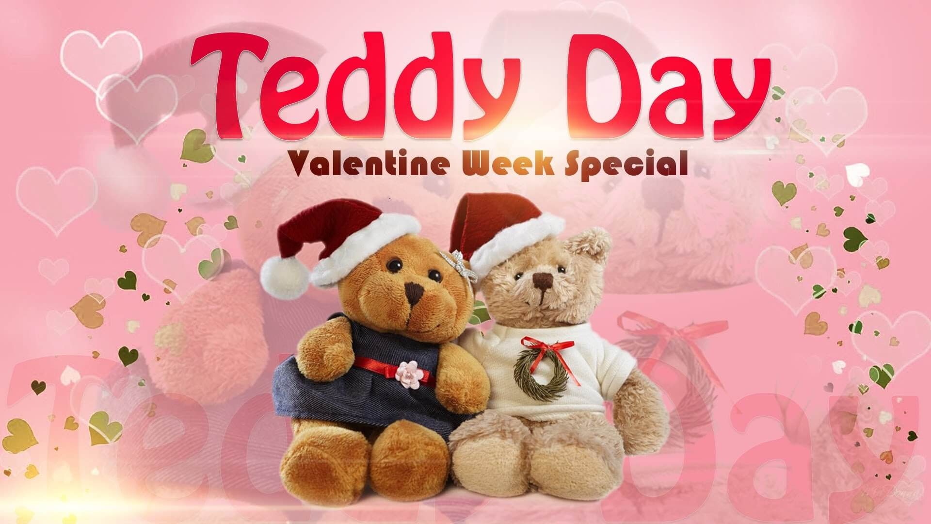 happy teddy day wishes bear couples valentines week feb 10th hd wallpaper