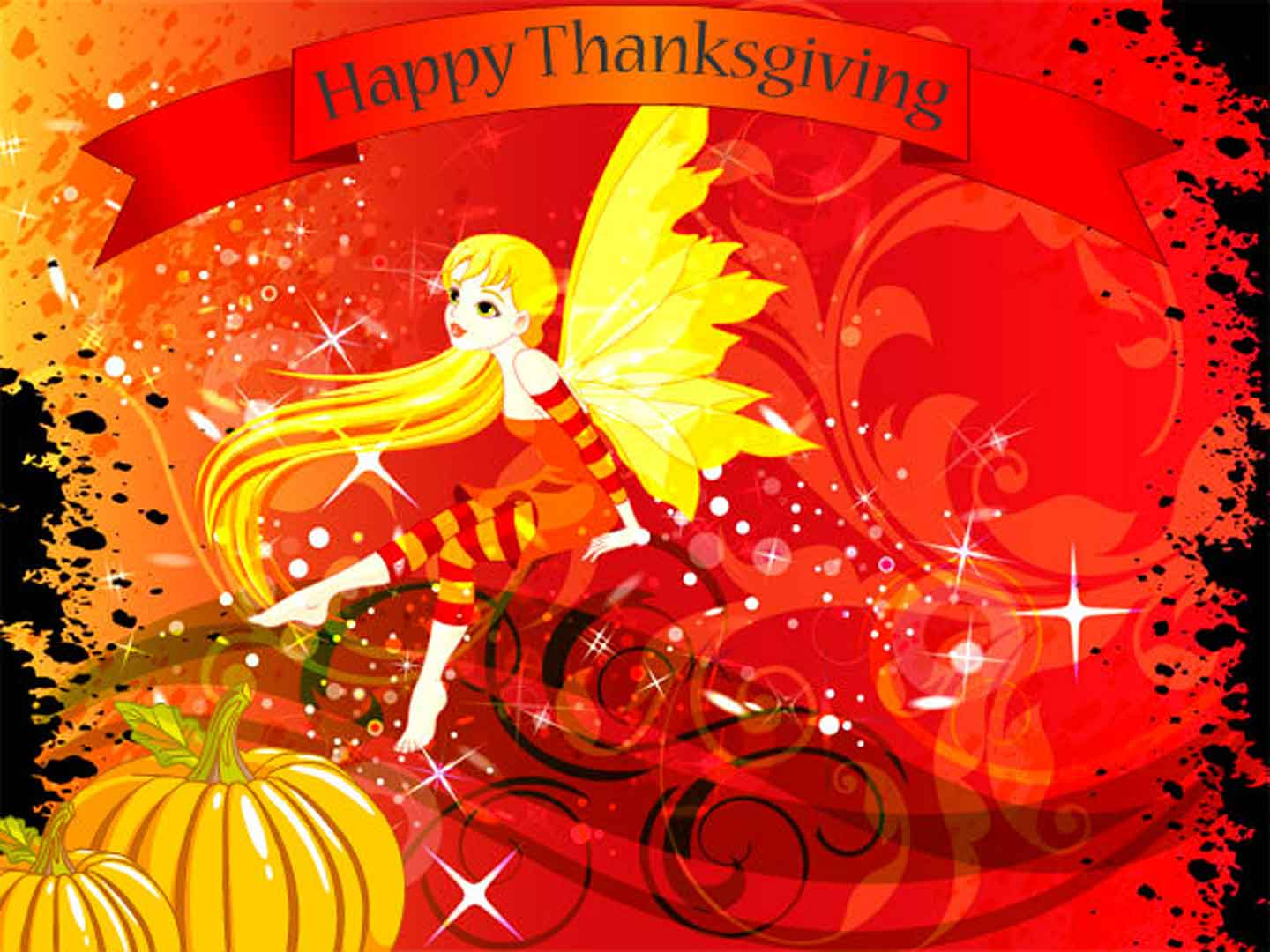 happy thanksgiving day greetings modern hd wallpaper