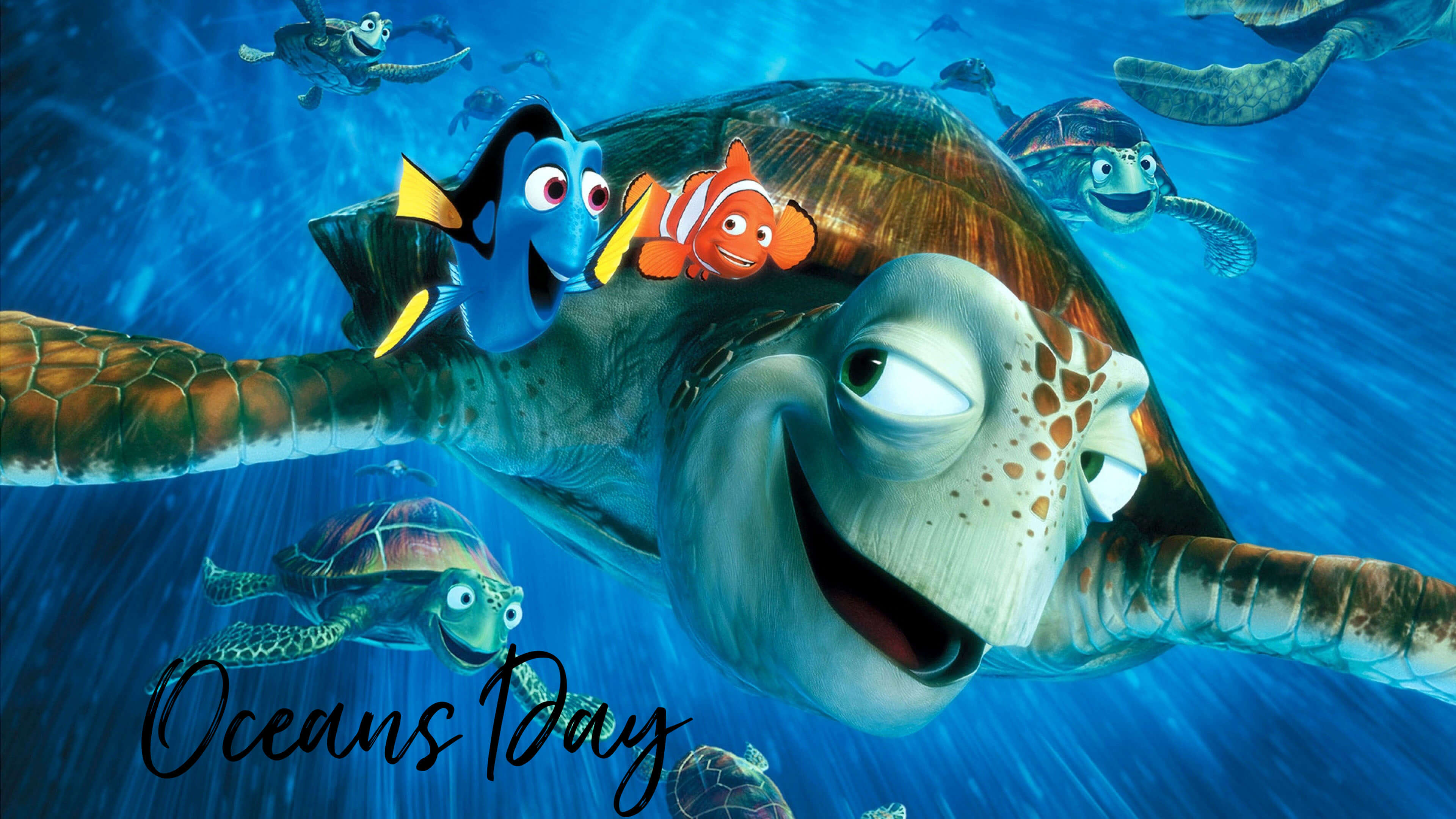 happy world oceans day finding nemo animations hd