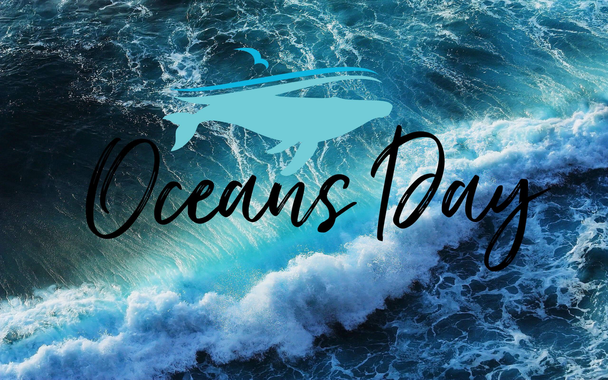 happy world oceans day tide hd wallpaper