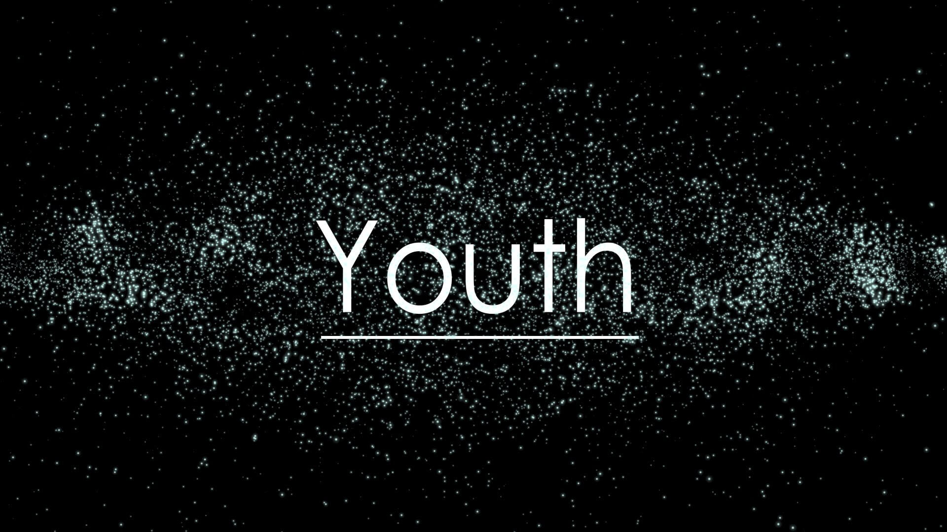 happy youth day text black background wallpaper