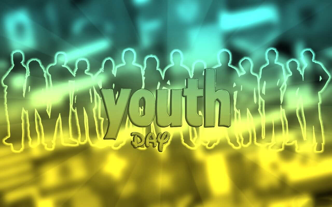 happy youth day wishes mobile desktop image wallpaper