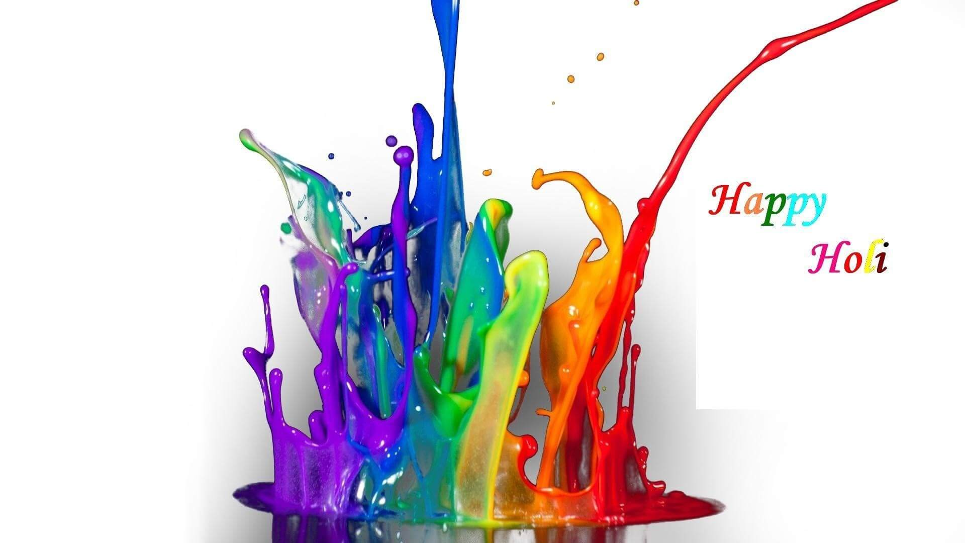 holi festival greetings wishes hd 3d wallpaper