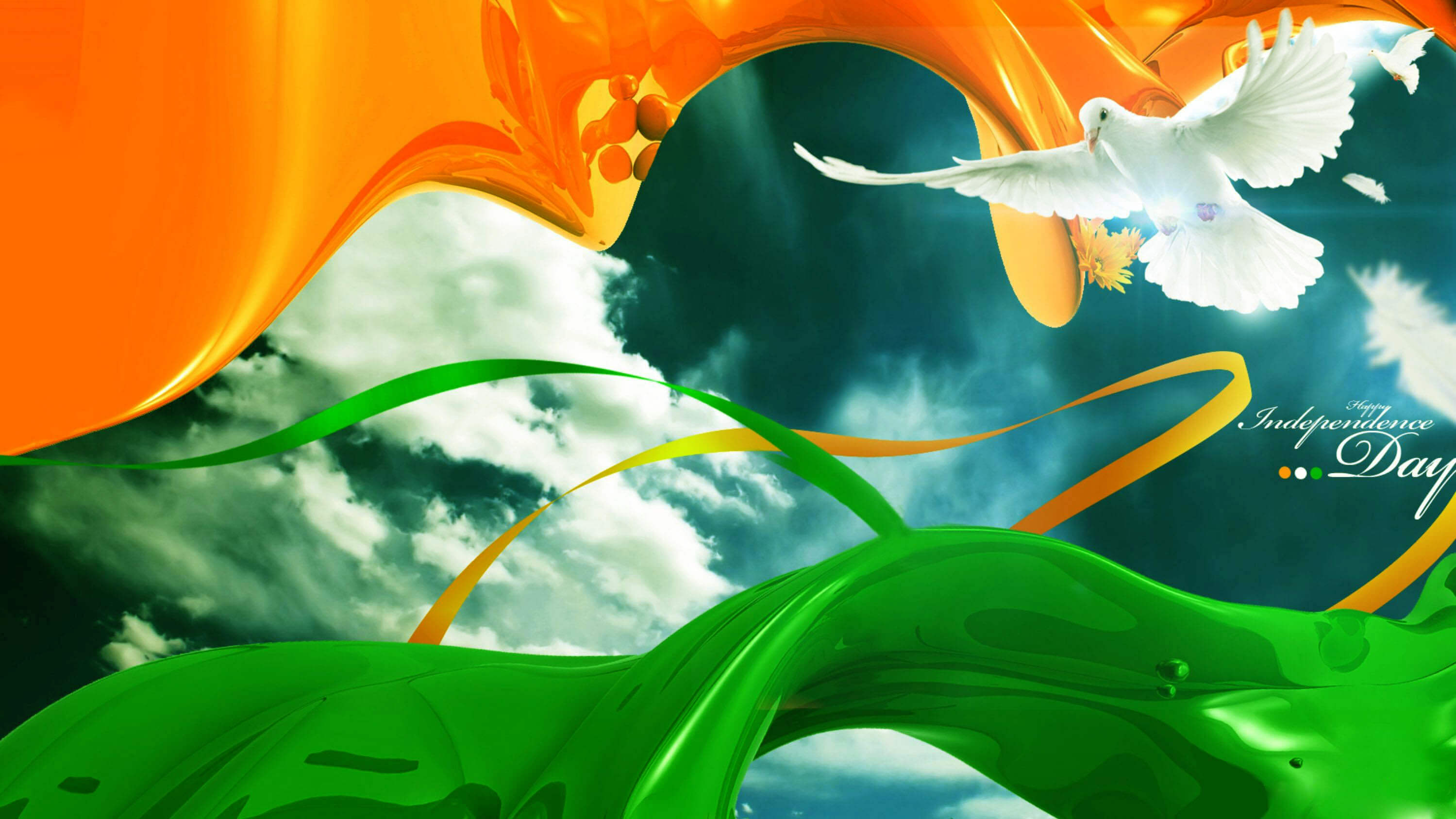 india independence day flag hd image