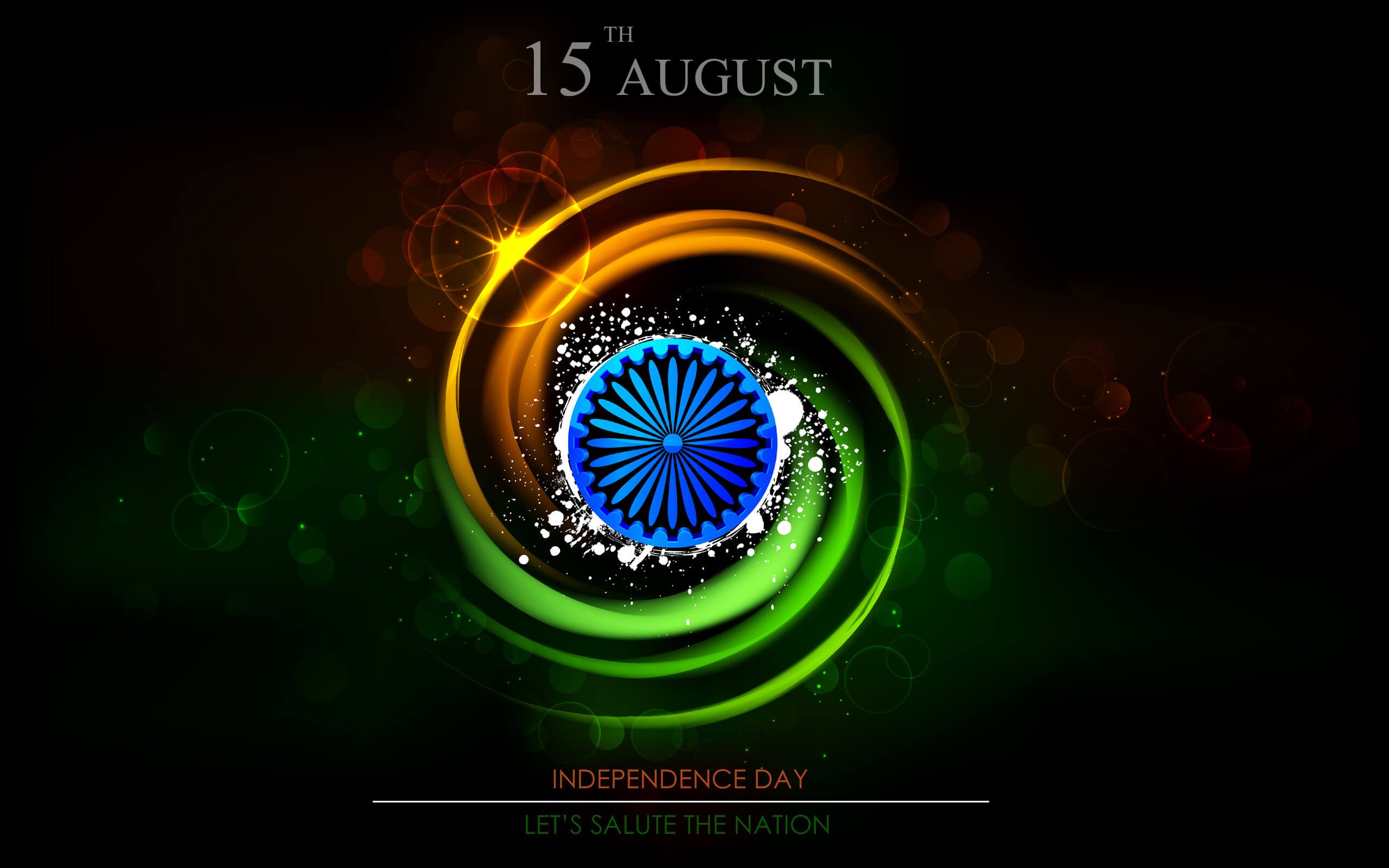 india independence day latest flag august 15th 1947 3d hd wallpaper