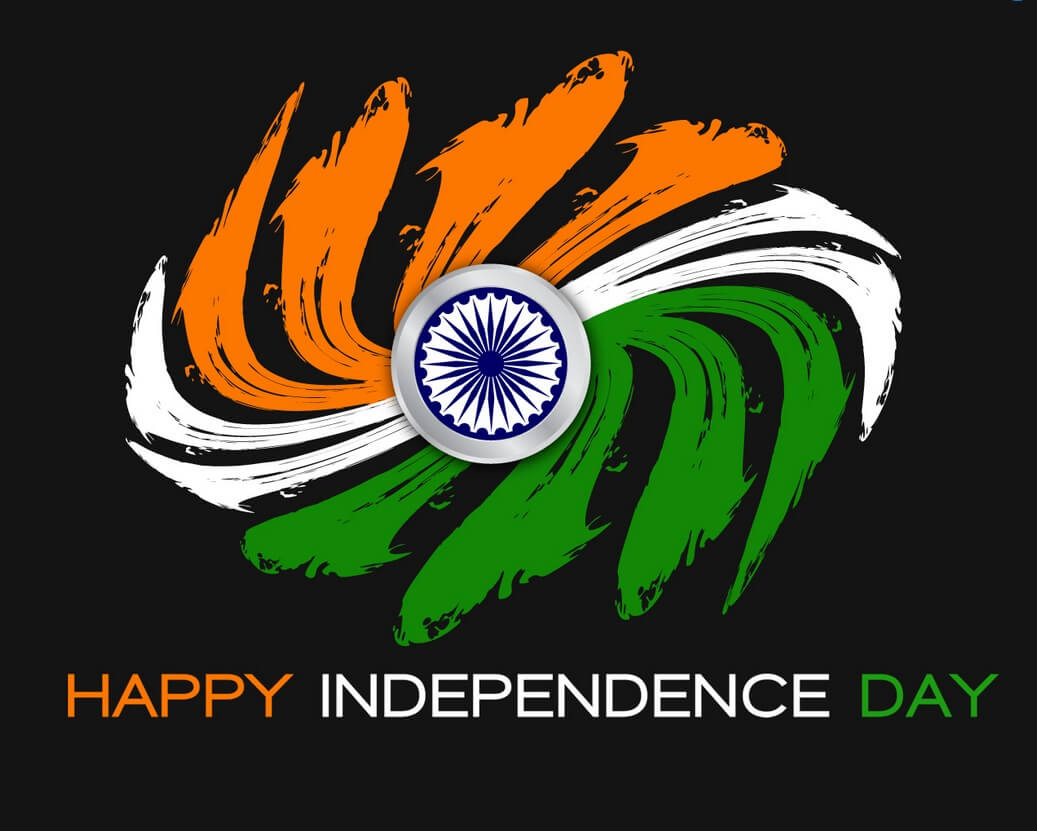 india independence day modern flag chakra august 15th wallpaper