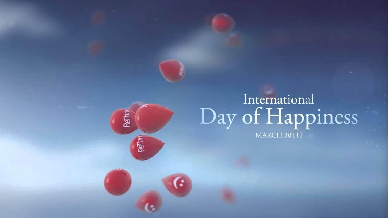 international day of happiness desktop