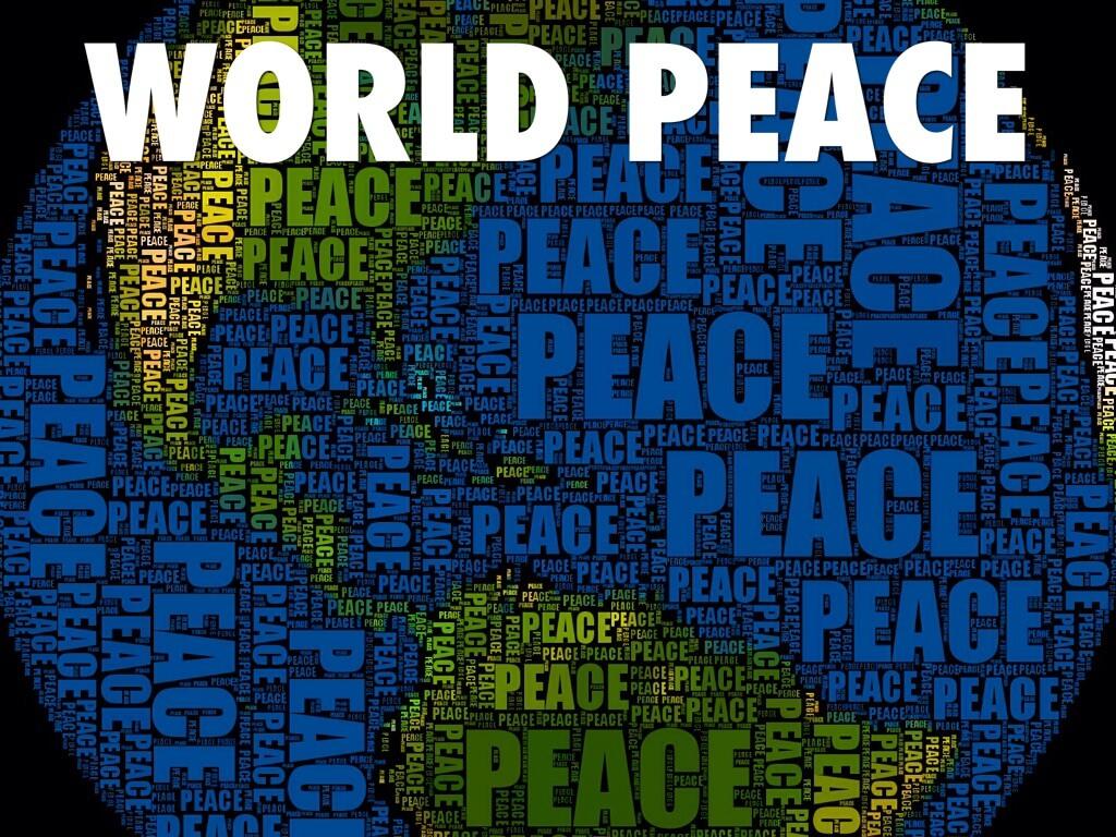 International World Peace Day Globe Image Wallpaper