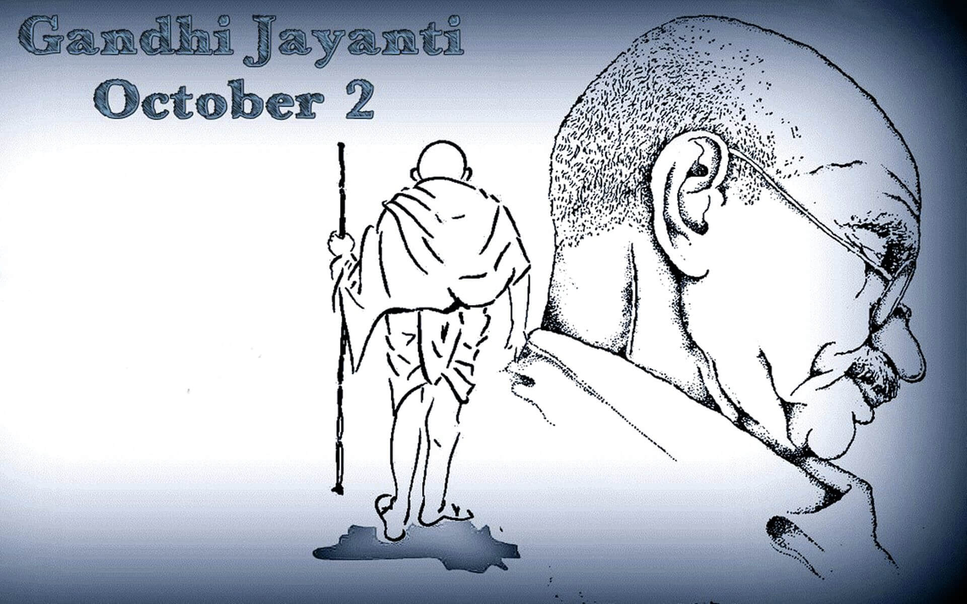 mahatma gandhi jayanti october 2 latest hd wallpaper