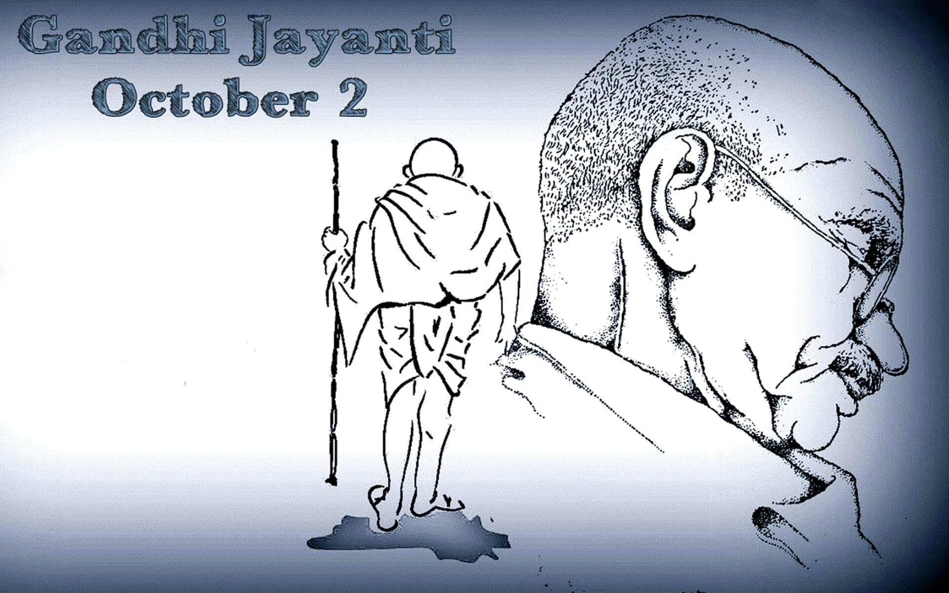mahatma gandhi jayanti october 2 latest hd wallpaper