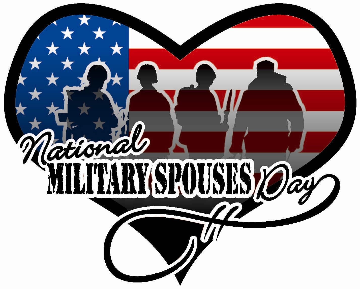 military spouses day greetings wishes hd wallpaper