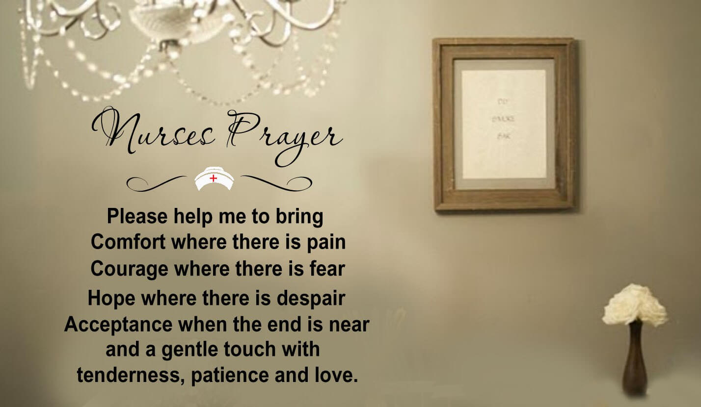 nurses day prayer wallpaper