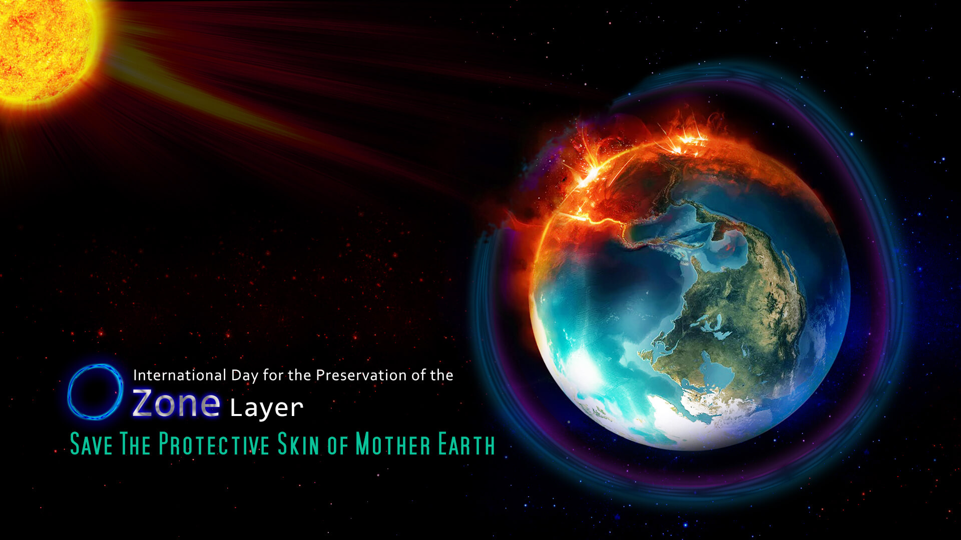 ozone day layer protection prevention awareness save earth wallpaper