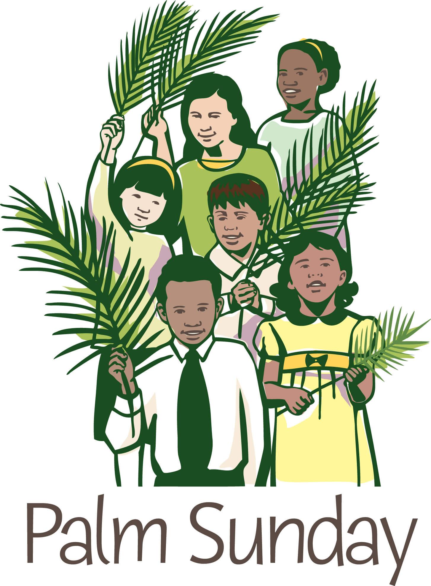 palm sunday free desktop image