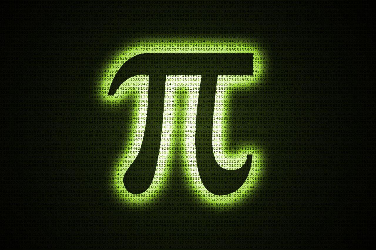 pi day 3 14 symbol matrix hd wallpaper