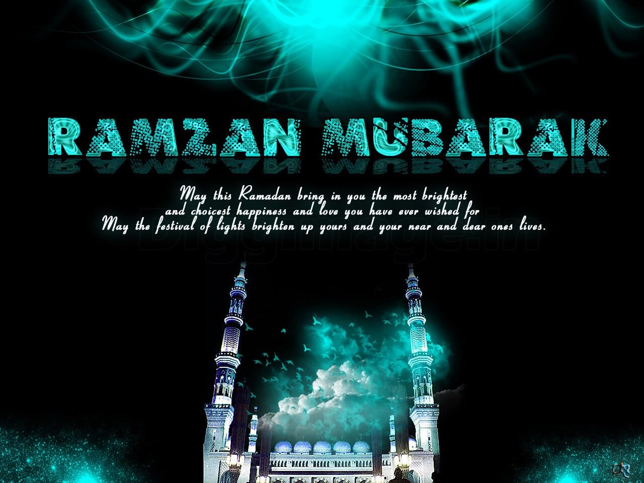 ramzan mubarak greetings wallpaper