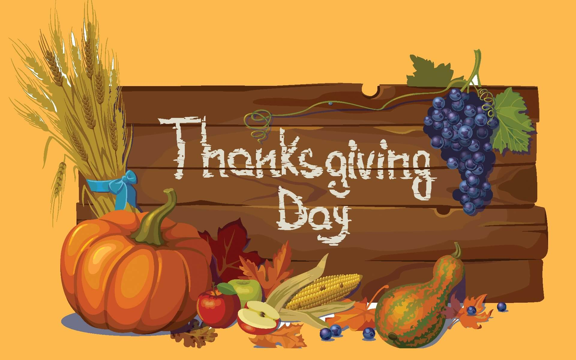 thanksgiving day greetings cute best hd background wallpaper