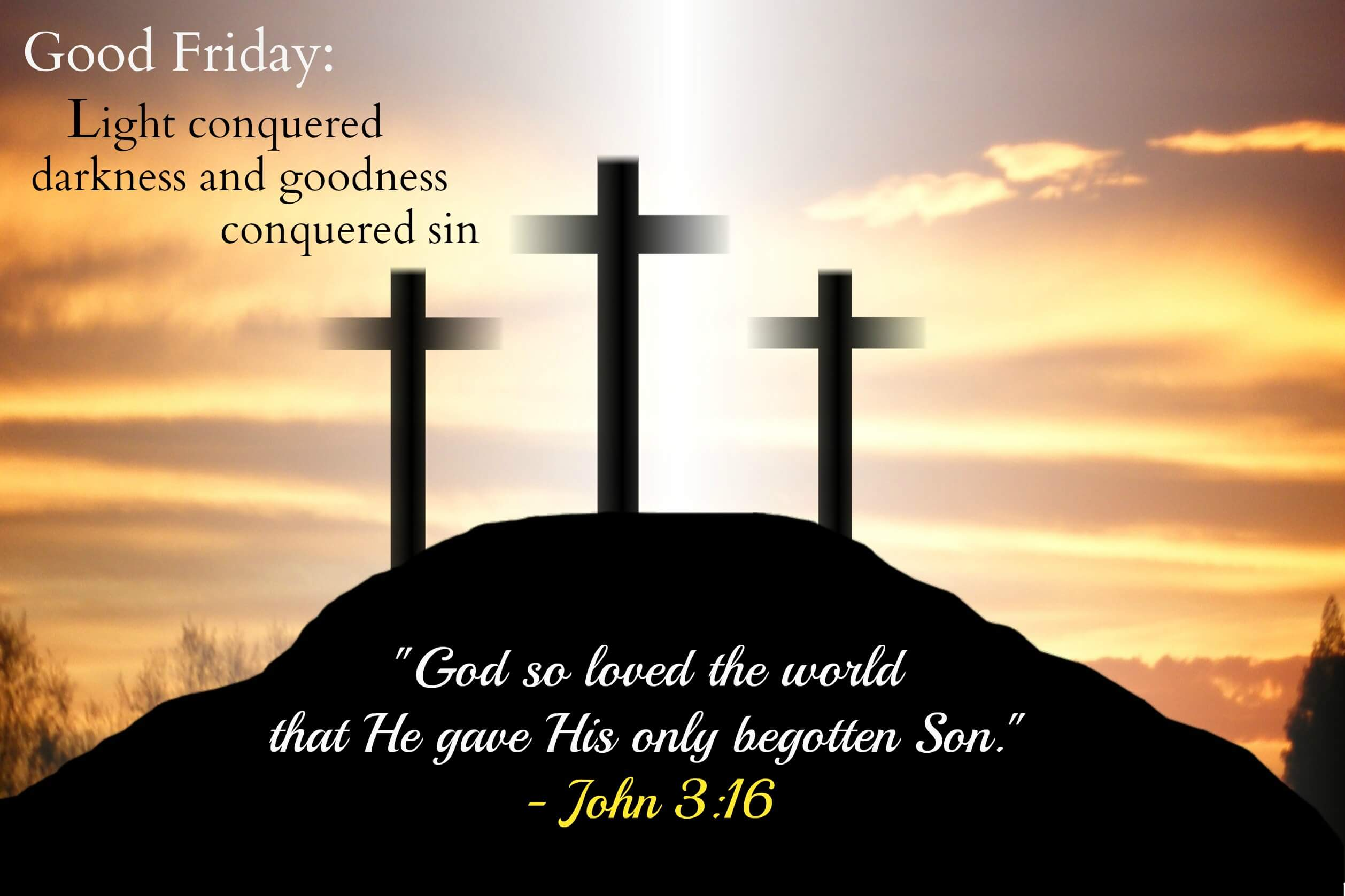 three crosses good friday hd wallpaper background