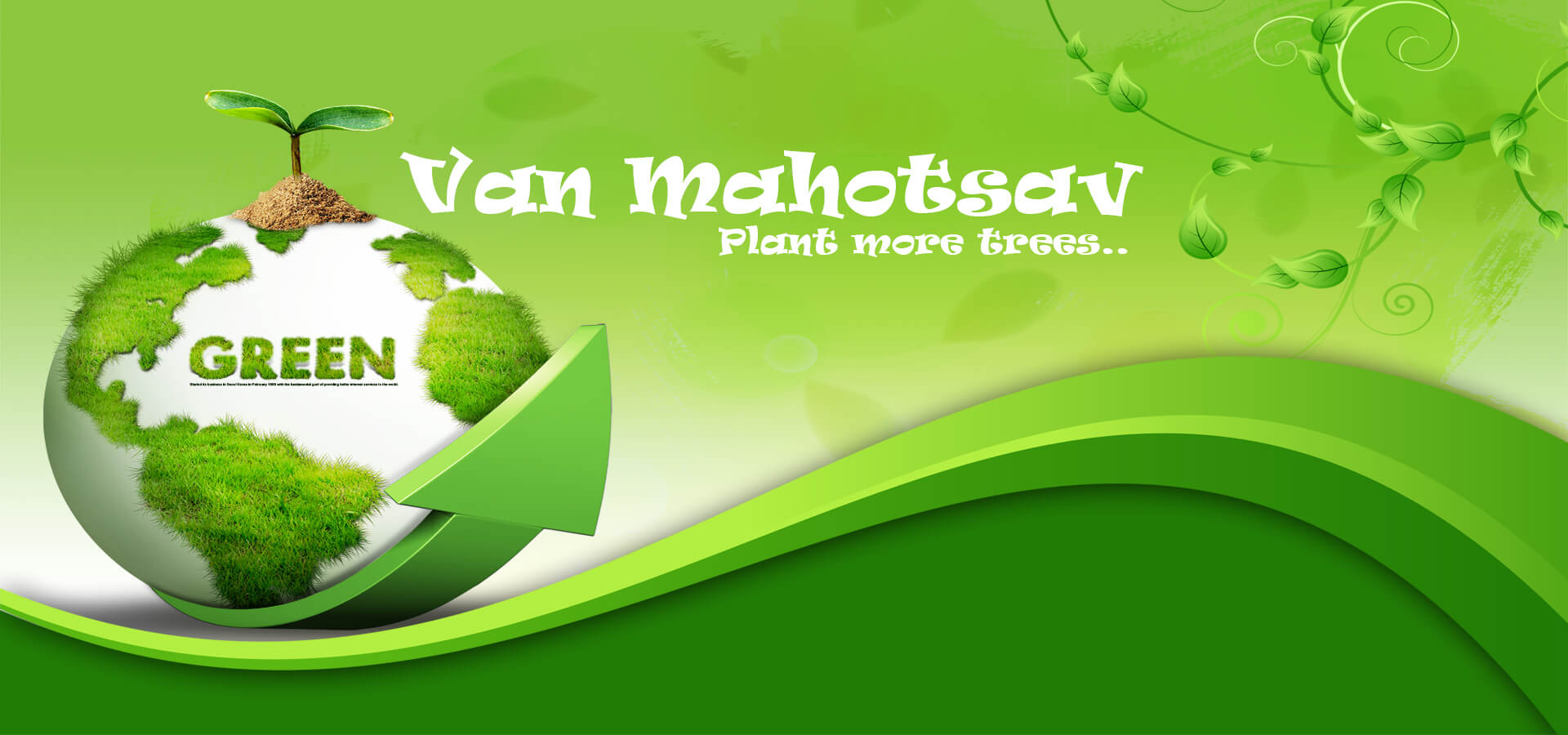 van mahotsav day planting tree save earth green nature image picture