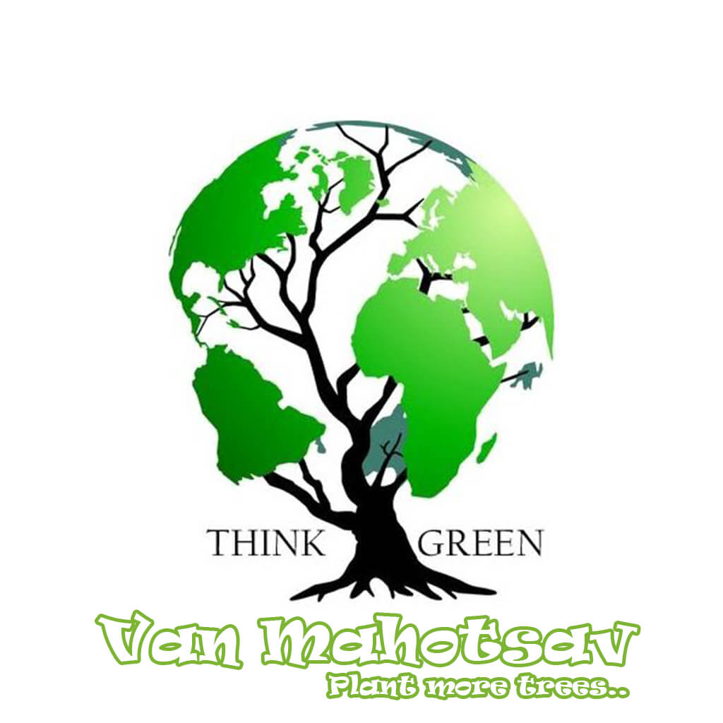van mahotsav day tree nature think green earth drawing
