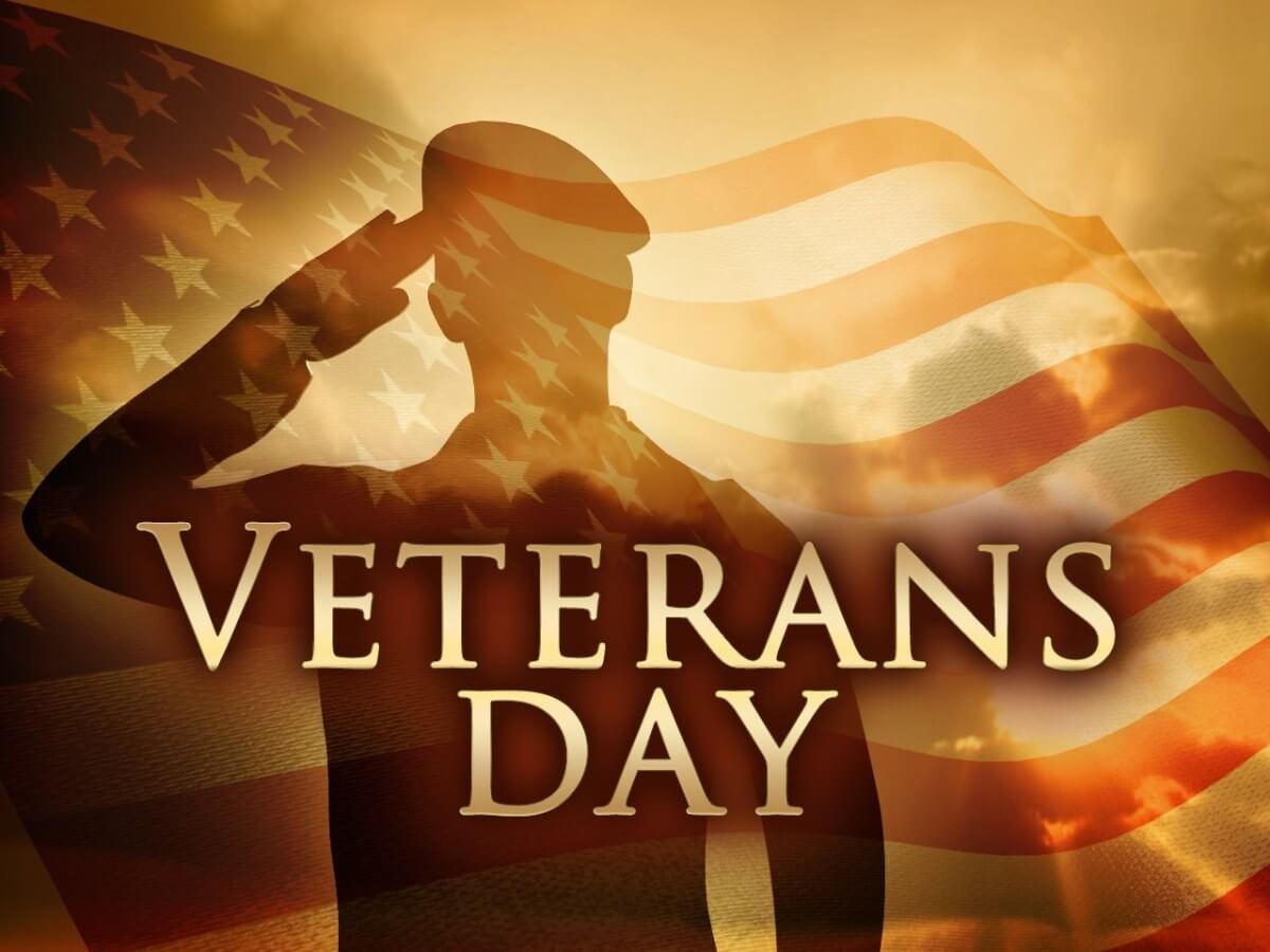 veterans day american flag salute honoring hd wallpaper
