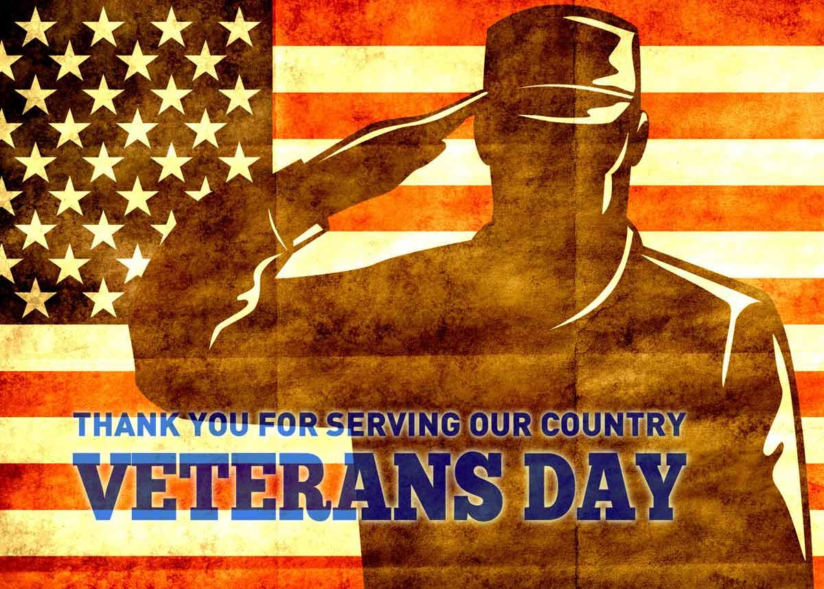 Veterans Day American Patriot Poster Greetings Wallpaper