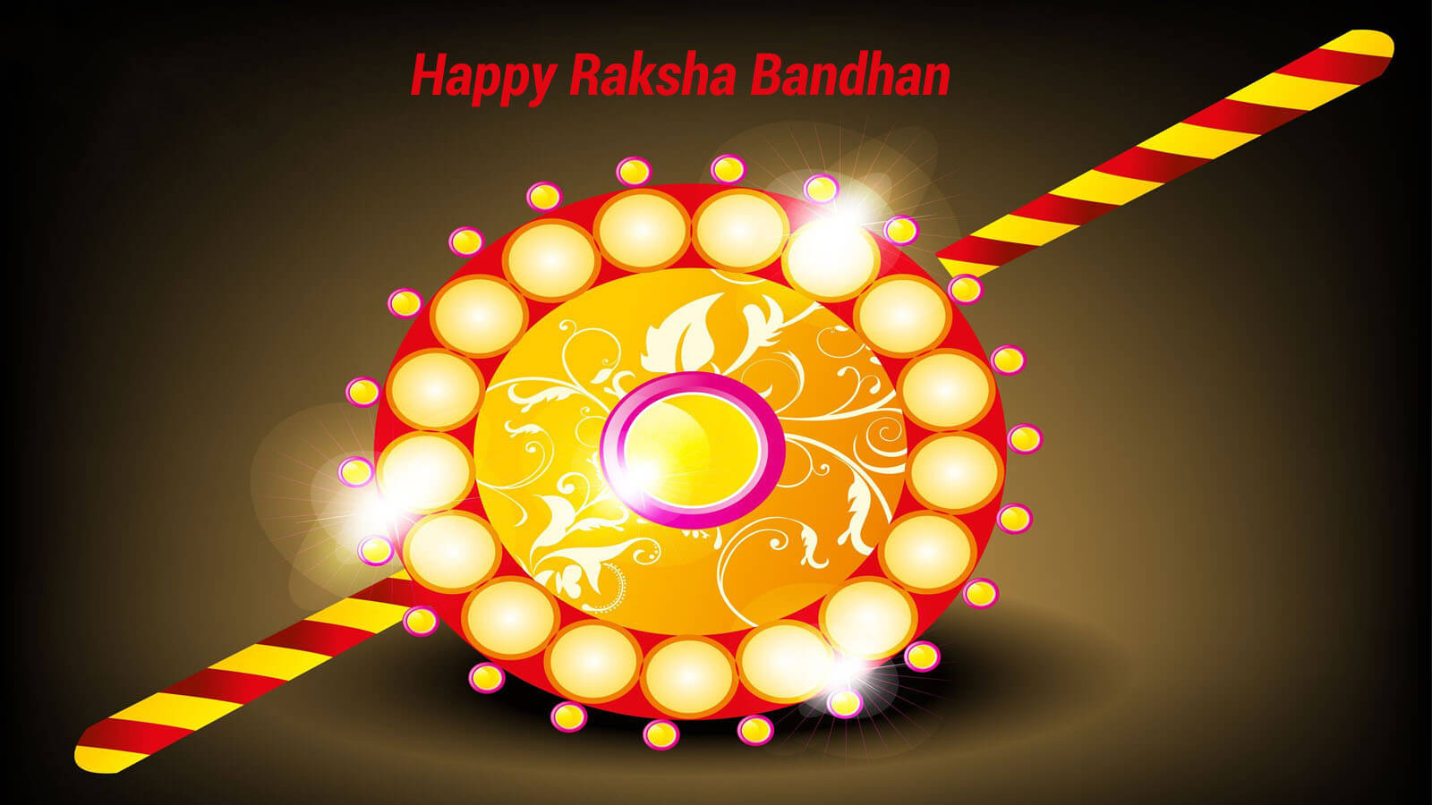 wish you happy rakhi raksha bandhan greetings wallpaper hd