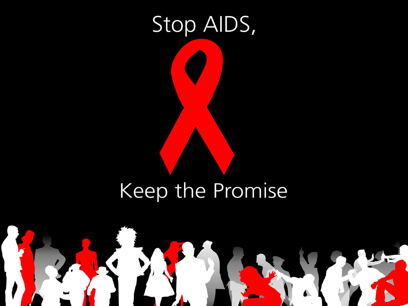 world aids day december 1 awareness quotes hd wallpaper