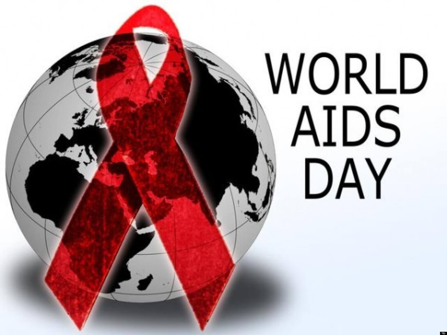 world aids day red ribbon globe december 1 hd wallpaper